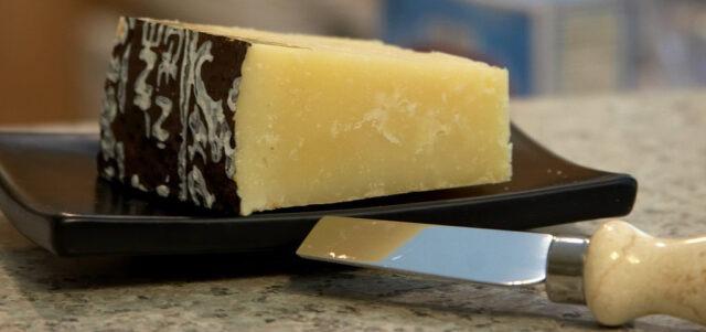 Pecorino Romano, a pleasure to eat by itself, but even better in Cacio e pepe (unknown photographer).