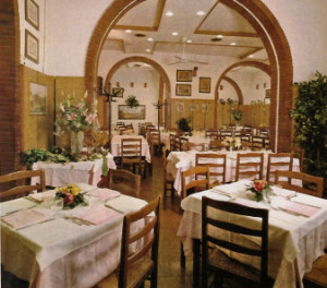 Inside seating at the ristorante (photo courtesy of Il Papalino).