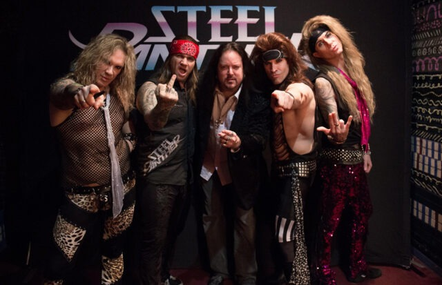 Backstage with Steel Panther, working all their April 2014 shows. Felt like the 80's all over again.