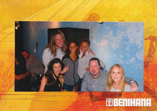 Another fun & crazy Birthday celebration for me with Nicole, best friend Jeff George and anyone else who wanted to party, September 2011 (photo courtesy of Benihana).