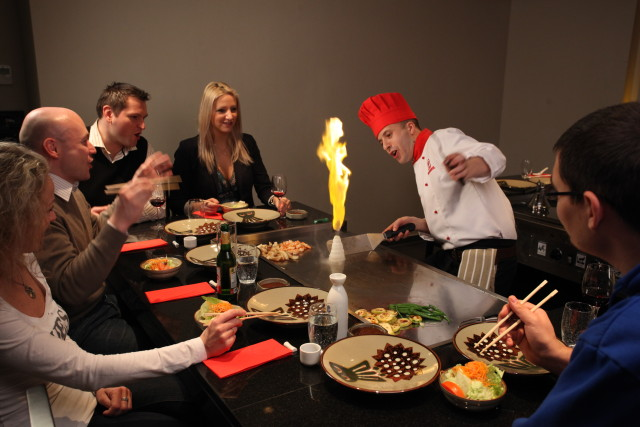 (photo courtesy of Benihana)