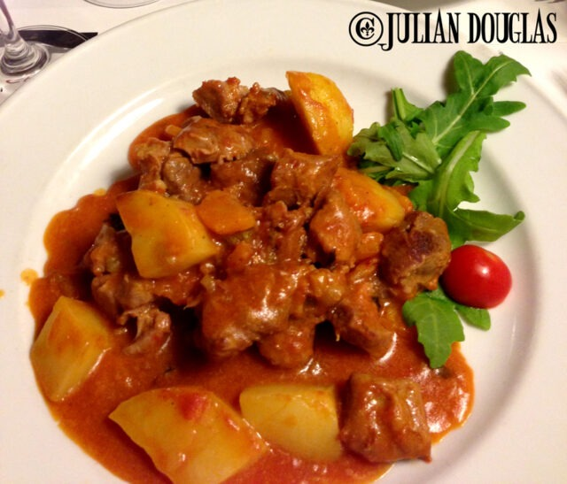 My Wild Boar Stew... sensational, June 2013.