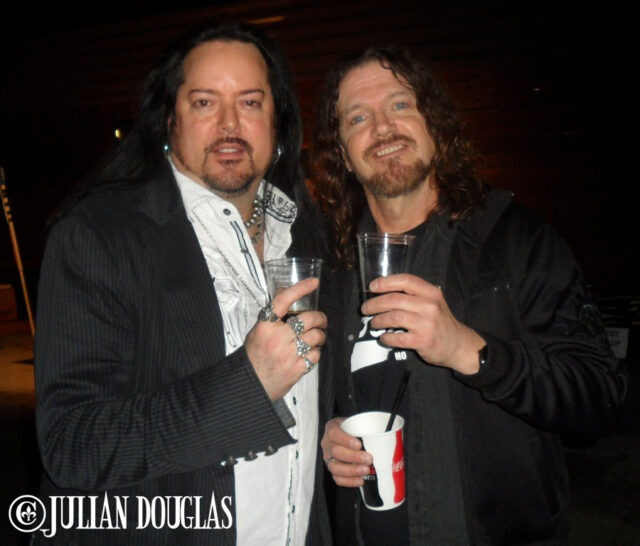 Thie 1st friend I was able to hang at the Convention, and the 1st to have a Jager with at Bonzo Bash, Dizzy Reed of course, Janaury 22nd 2015.