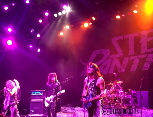 KIss lead guitarist Tommy Thayer joining Satchel, Michael Starr, Lexxi Foxx and Stix Zadinia, January 23rd, 2015.