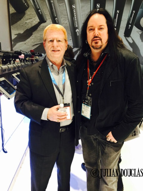 Sennheiser's L.A. Sales Rep, Aaron Berg and I, January 24th, 2015.