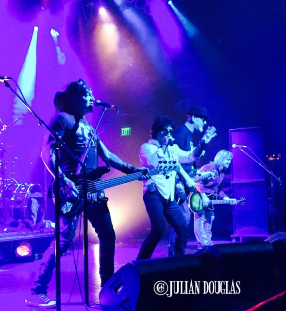 Great White hitting the stage at House Of Blues - Anaheim, January 24th, 2015.