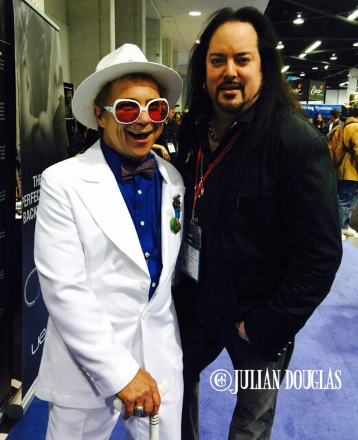 Great buddy, Mr. Kenny Metcalf, star of the Elton: The Early Years show, January 24th, 2015.