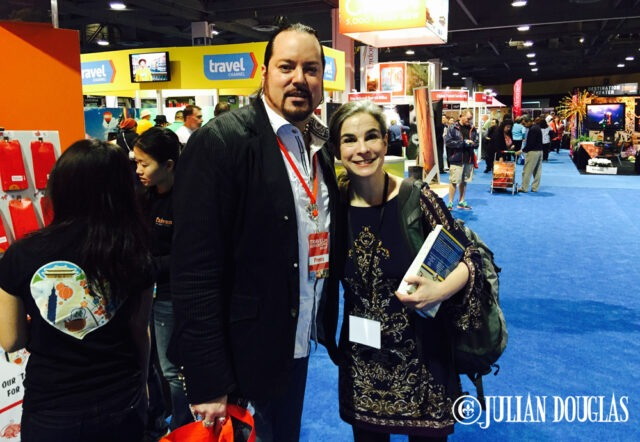 The Queen of Travel Guides... Pauline Frommer of Frommer's.