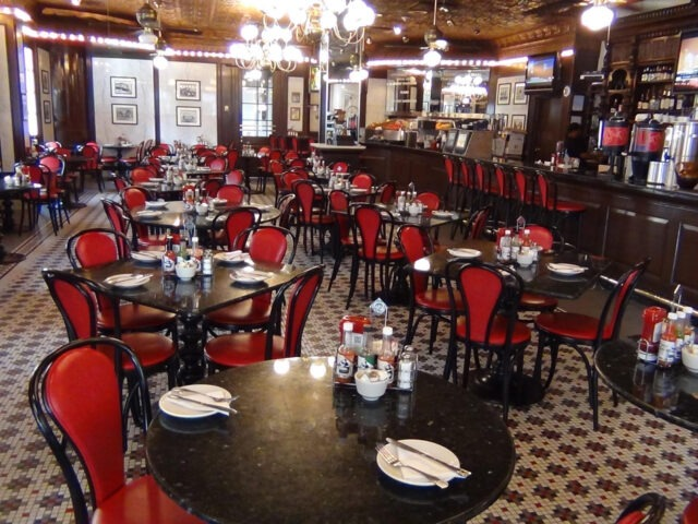That classic dining room of Desire's. However, it was closed for remodeling, so not sure of the changes. I hope it holds this great look (photo courtesy of Desire Oyster Bar).