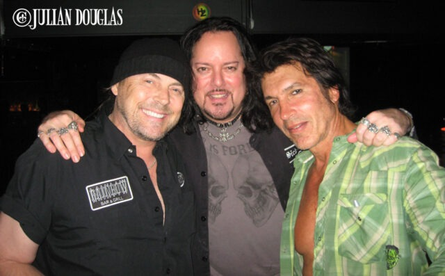 Don came down to check out George Lynch's latest project at Saint Rocke back in August of 2009.