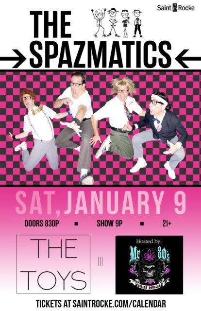 THE SPAZMATICS - 1st 80's Show if 2018 @ SAINT ROCKE   Hermosa Beach   California   United States