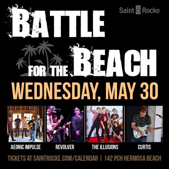 BATTLE FOR THE BEACH: Round 1, Day 2 @ SAINT ROCKE | California | United States