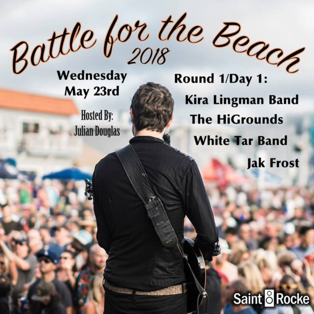 BATTLE FOR THE BEACH - Round 1, Day 1 @ SAINT ROCKE | Hermosa Beach | California | United States