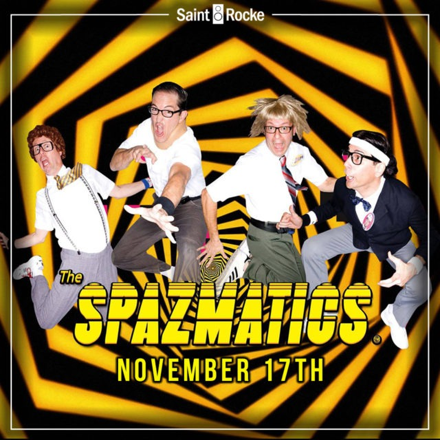 THE SPAZMATICS - The last South Bay show of 2018 @ SAINT ROCKE | Redondo Beach | California | United States