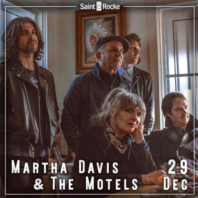 MARTHA DAVIS & THE MOTELS rock the South Bay again! @ SAINT ROCKE